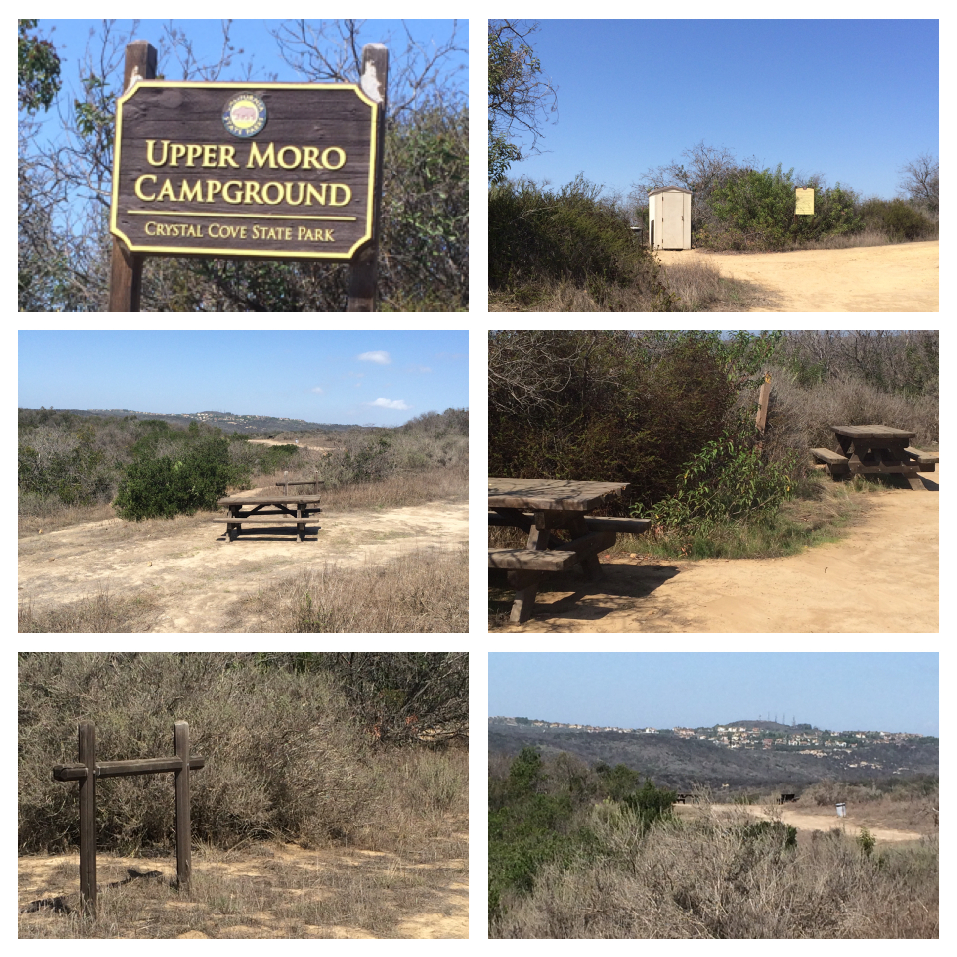 Camping in the backcountry crystal cove click here for campground map nvjuhfo Image collections